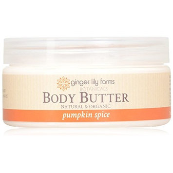 Ginger Lily Farm's Botanicals Body Butter, Pumpkin Spice, 7 Ounce