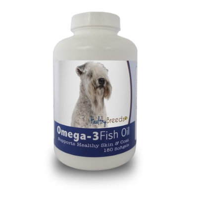 Healthy Breeds 840235141945 Soft Coated Wheaten Terrier Omega-3 Fish Oil Softgels - 180 count
