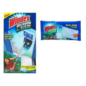 Windex All-in-One Variety Pack, 1 All-in-One Starter Kit, 1 All-in-One Refill, 1 CT