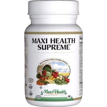Maxi Health Supreme - High Potency Multivitamin & Mineral Supplement - 120 Tablets - Kosher
