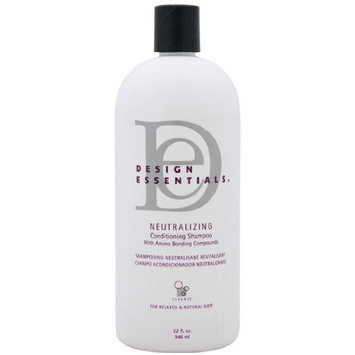 Design Essentials Neutralizing Conditioning Shampoo with Olive Oil, Honey and Milk Protein 32 Oz