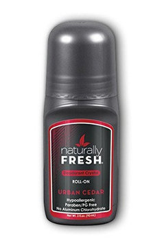 Men's Deodorant Urban Cedar Naturally Fresh 3 oz Roll-on