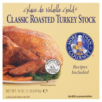 More Than Gourmet, Glace De Vllle Turkey Stock, 16 Oz (Pack Of 4)