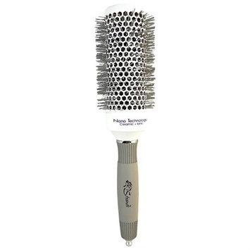 Strands Color Strands Nano Technology Ceramic Ionic Brush White1.7 inch (43mm)