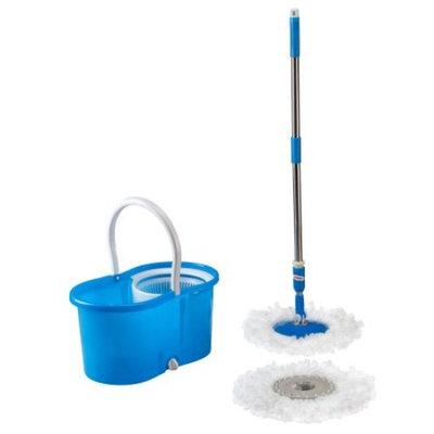WalterDrake Clean Spin 360° Microfiber Mop and Bucket Set