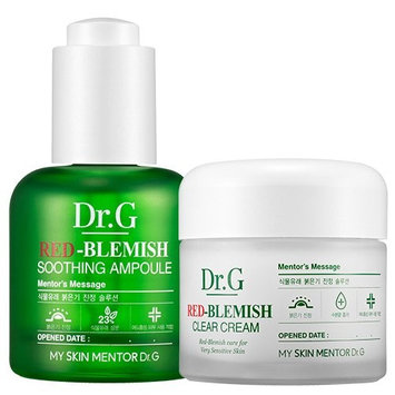 Red-Blemish Clear Cream(70ml) + Red-Blemish Soothing Ampoule(30ml)