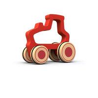 BeginAgain Push Around Tractor Toy