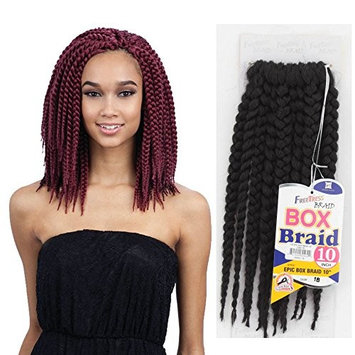FreeTress Epic Box Braid Synthetic Crochet Braiding Hair 10