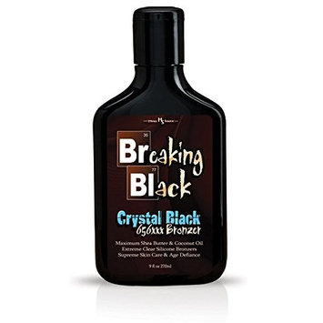 Breaking Black CRYSTAL BLACK 656xxx Tanning Bronzer 9oz