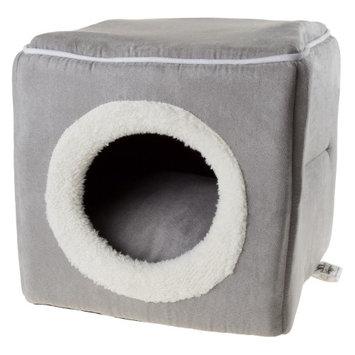 Petmaker Cat Cave Pet Bed Gray