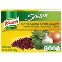 Knorr® Sazon Seasoning Garlic Onion Annatto Cilantro