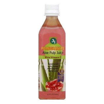 Jayone Juice Pomegranate Aloe, 16.9 OZ (Pack of 12)