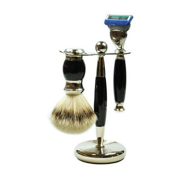 Pfeilring Of America 3 Piece Vintage Shaving Set for Fusion Spare Blades