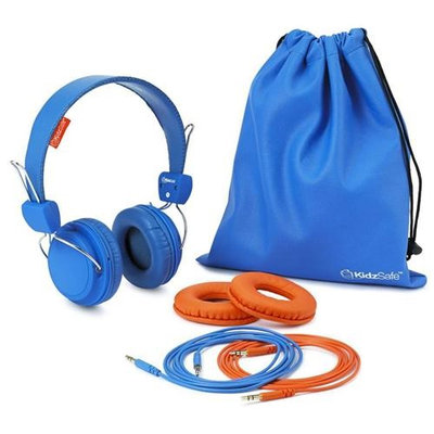 SMS Audio KS 2013 BDIY ROH KidzSafe Boys DIY Headphones Blue HEC0FWXTX-1612