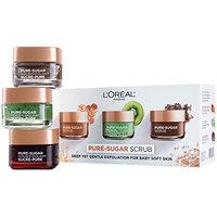L'Oreal Paris Skin Care Pure Sugar Scrub for Face and Lips [Kit]