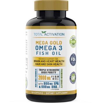 Total Activation Mega Gold Omega 3 Fish Oil