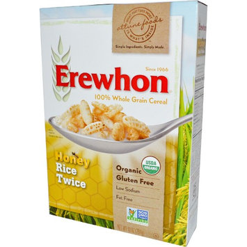 Erewhon, Honey Rice Twice Cereal, 10 oz (pack of 2)