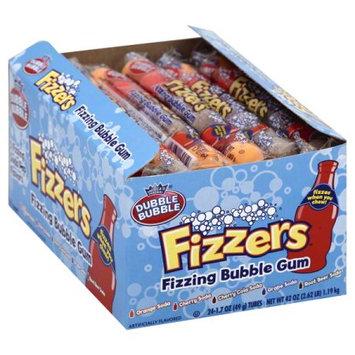 Concord Dubble Bubble Fizzers Gumball - 7ct - 24pk