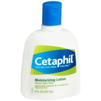 Cetaphil Moisturizing Lotion, Fragrance Free (8 Fluid Ounces)