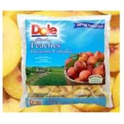 Dole Individual Quick Frozen Sliced Peach, 30 Pound - 1 each.