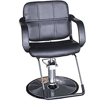 Funnylife Vintage Salon Black Hydraulic Barber Chair