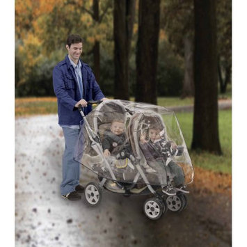 His Juveniles Nuby Tandem Stroller Weather Shield