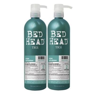 Urban Antidotes by TIGI Bed Head Hair Care Recovery Tween Set - Shampoo 750ml & Conditioner 750ml by TIGI Bed Head Hair Care