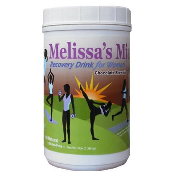 Melissa's Mix Recovery Drink for Women 3 lbs-Chocolate Brownie
