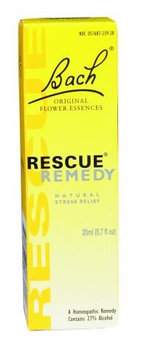 Bach 0580274 Flower Remedies Rescue Remedy Natural Stress Relief - 0.7 fl oz