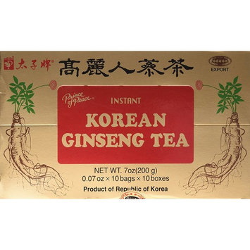 Prince of Peace ( Instant ) Korean Ginseng Tea 100 Counts Pack