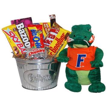 GiftProse NCAA Snack Bucket Gift Basket