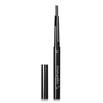 Vinjeely Cosmetics Makeup Double Automatic Rotation Eyebrow Eyeliner Pencil Tool (D)