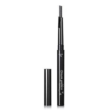 Vinjeely Cosmetics Makeup Double Automatic Rotation Eyebrow Eyeliner Pencil Tool (D)