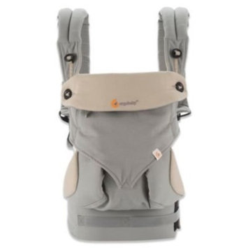 Ergobaby 360 All Carry Positions Award-Winning Ergonomic Baby Carrier, Grey