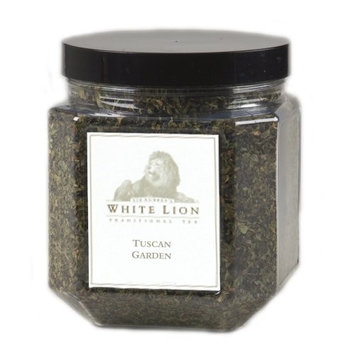 Tuscan Garden Fine Herbal Tea, Loose Tea Canister, White Lion Tea