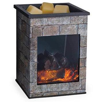HEARTHSTONE Glass Illumination Fragrance Warmer by Candle Warmers