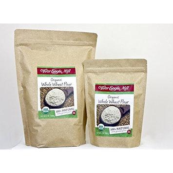 War eagle mill Organic Whole Wheat Flour in a resealable bag (2 lbs)