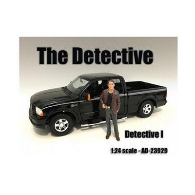 American Diorama 23929 The Detective No. 1 Figure for 1-24 Scale Models