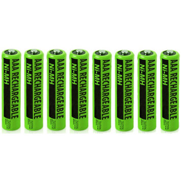 Replacement Battery for GE/RCA NiMH AAA - 8 Pack