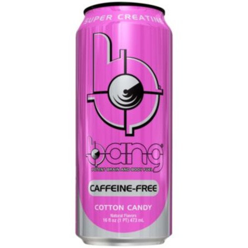 BANG CAFFEINE FREE - COTTON CANDY (12 Drinks) by VPX (Vital Pharmaceuticals) at the Vitamin Shoppe