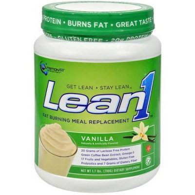 Nutrition 53 Lean1 Shake Vanilla, 10 SRV (Pack of 1)