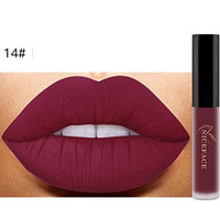 Lipstick Set,Putars Fashion New New New Lip Lingerie Matte Liquid Lipstick Waterproof Lip Gloss Makeup 14 Shades