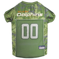 NFL Pets First Camo Pet Football Jersey - Miami Dolphins