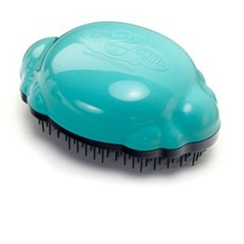 Knot Genie Detangling Brush, AquaMarine Dream