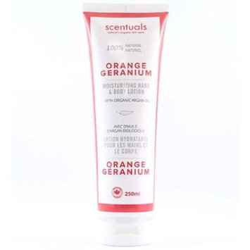 Scentuals Hand & Body Lotion 250 ml - Orange Geranium