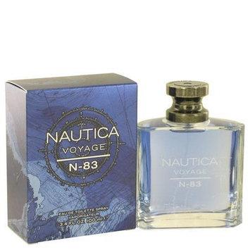 Nautica 502339 Nautica Voyage N-83 by Nautica Eau De Toilette Spray 3.4 oz