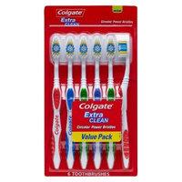 Colgate Extra Clean Full Head Toothbrush, Medium - 6 Count [Medium]