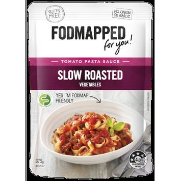Fodmapped Foods Llc Tomato & Slow Roated Vegetables Pasta Sauce