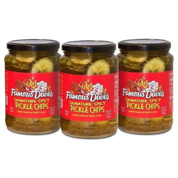 Famous Dave's® Signature Spicy Pickle Chips - 3pk