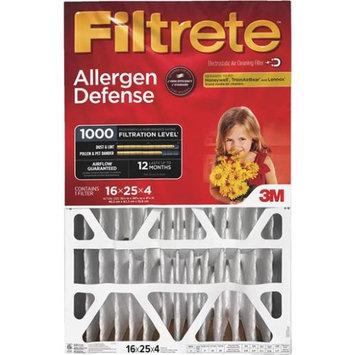 3M Filtrete Allergen Defense 16 in. L x 25 in. W x 4 in. D Fiberglass Air Filter (Pack of 4)